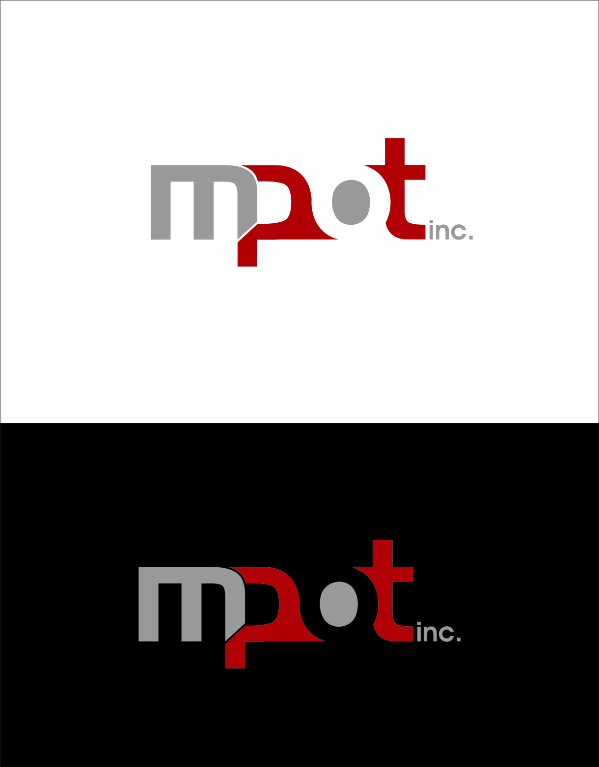Logo Design by Ngepet_art - Entry No. 28 in the Logo Design Contest Mpot inc  Logo Design.