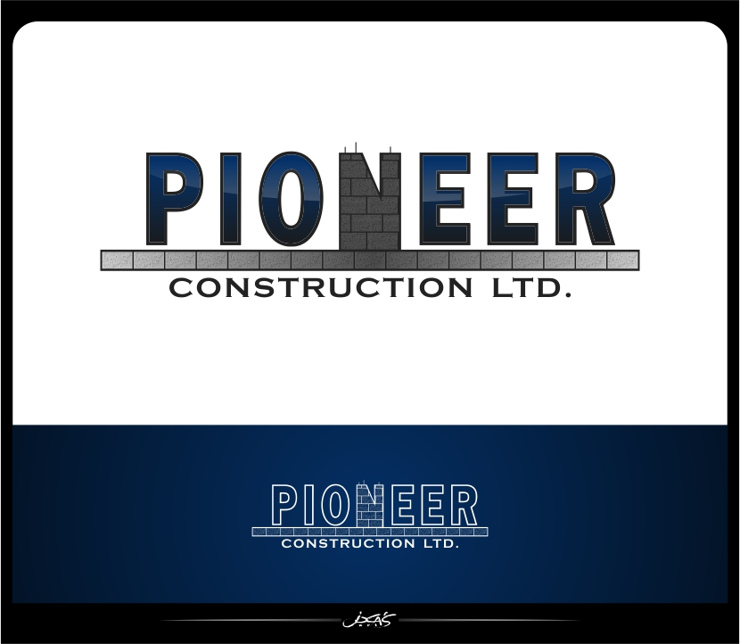 Logo Design by joca - Entry No. 102 in the Logo Design Contest Imaginative Logo Design for  Pioneer Construction Ltd.