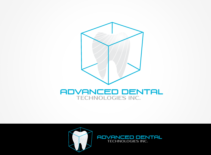 Logo Design by Jan Chua - Entry No. 28 in the Logo Design Contest Fun Logo Design for Advanced Dental Technologies Inc..