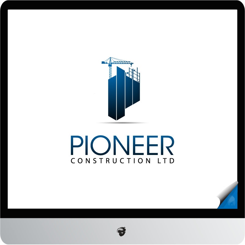 Logo Design by zesthar - Entry No. 103 in the Logo Design Contest Imaginative Logo Design for  Pioneer Construction Ltd.