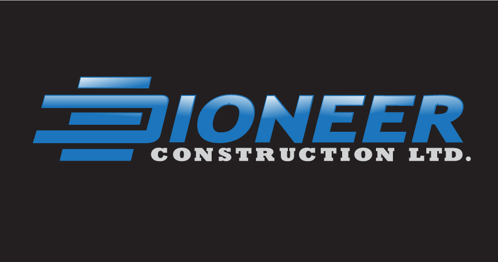 Logo Design by Amianan - Entry No. 104 in the Logo Design Contest Imaginative Logo Design for  Pioneer Construction Ltd.