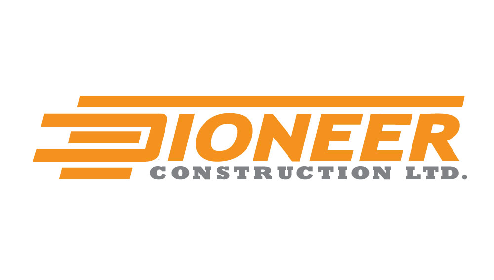 Logo Design by Amianan - Entry No. 105 in the Logo Design Contest Imaginative Logo Design for  Pioneer Construction Ltd.