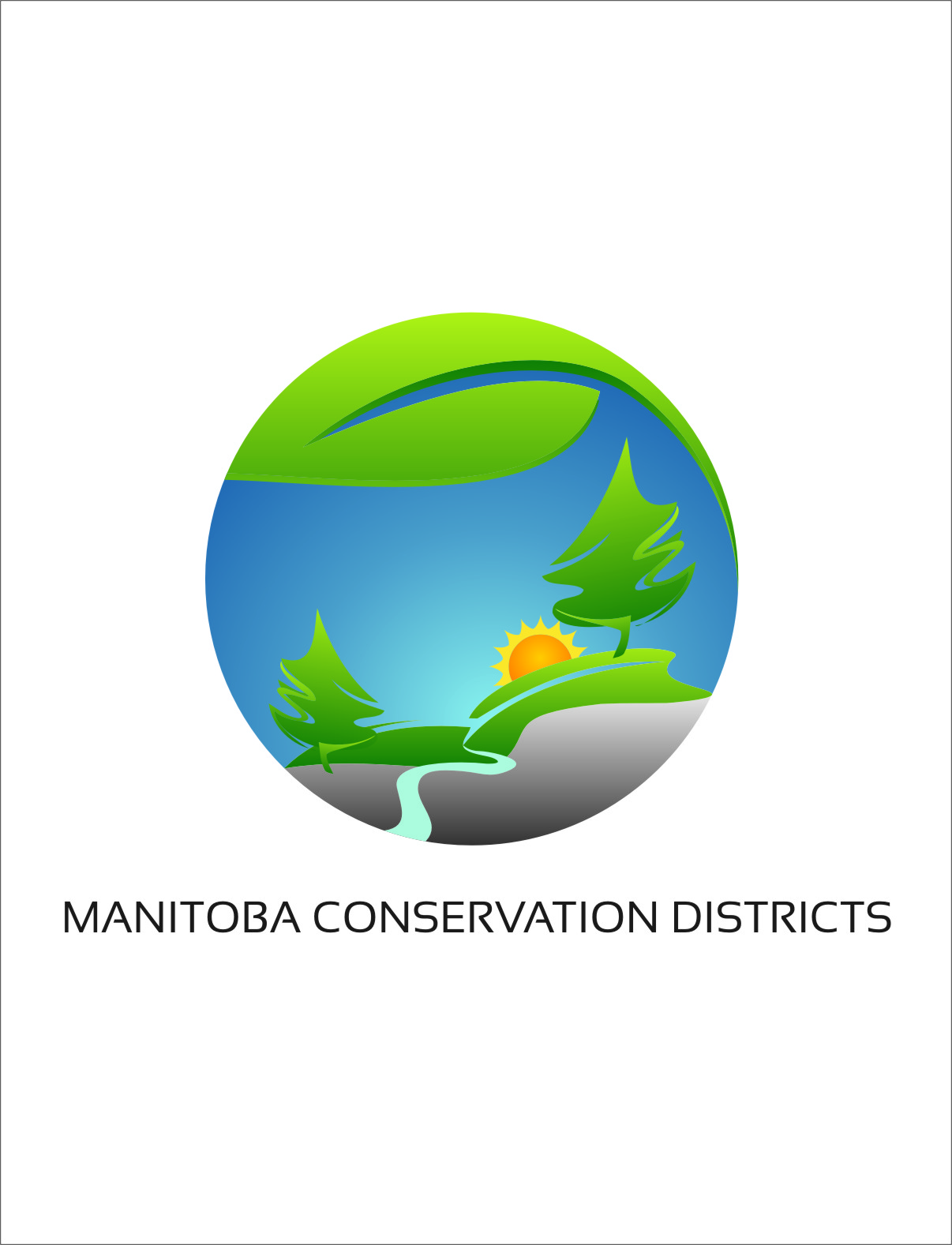 Logo Design by Ngepet_art - Entry No. 95 in the Logo Design Contest Manitoba Conservation Districts Logo Design.