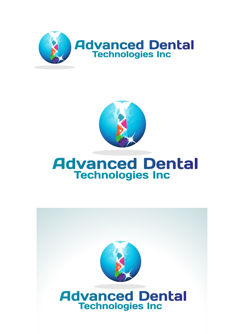 Logo Design by Private User - Entry No. 33 in the Logo Design Contest Fun Logo Design for Advanced Dental Technologies Inc..