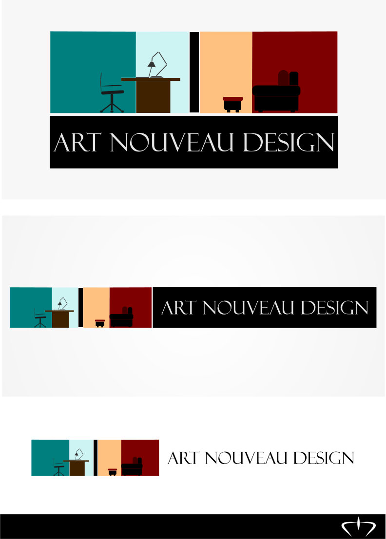 Logo Design by Nimrod Kabiru - Entry No. 103 in the Logo Design Contest Artistic Logo Design for Art Nouveau Design.