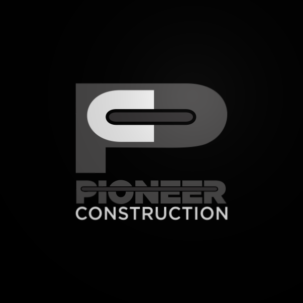 Logo Design by Private User - Entry No. 107 in the Logo Design Contest Imaginative Logo Design for  Pioneer Construction Ltd.