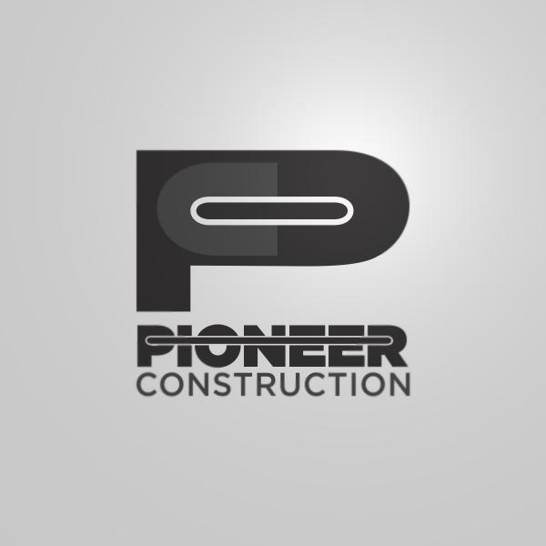 Logo Design by Private User - Entry No. 108 in the Logo Design Contest Imaginative Logo Design for  Pioneer Construction Ltd.