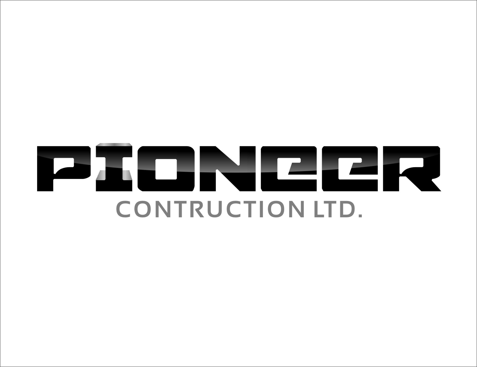 Logo Design by RasYa Muhammad Athaya - Entry No. 111 in the Logo Design Contest Imaginative Logo Design for  Pioneer Construction Ltd.