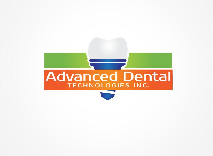 Logo Design by Jan Chua - Entry No. 37 in the Logo Design Contest Fun Logo Design for Advanced Dental Technologies Inc..