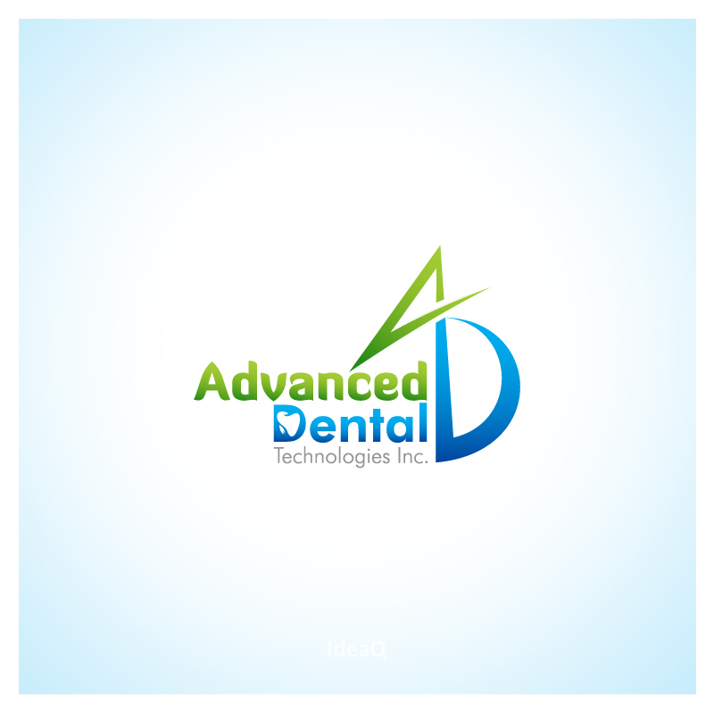 Logo Design by Private User - Entry No. 39 in the Logo Design Contest Fun Logo Design for Advanced Dental Technologies Inc..