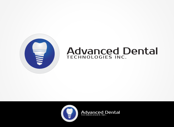 Logo Design by Jan Chua - Entry No. 40 in the Logo Design Contest Fun Logo Design for Advanced Dental Technologies Inc..