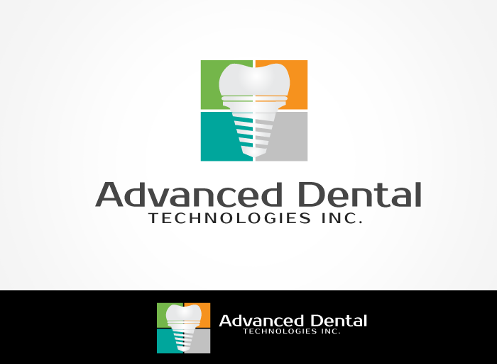 Logo Design by Jan Chua - Entry No. 41 in the Logo Design Contest Fun Logo Design for Advanced Dental Technologies Inc..