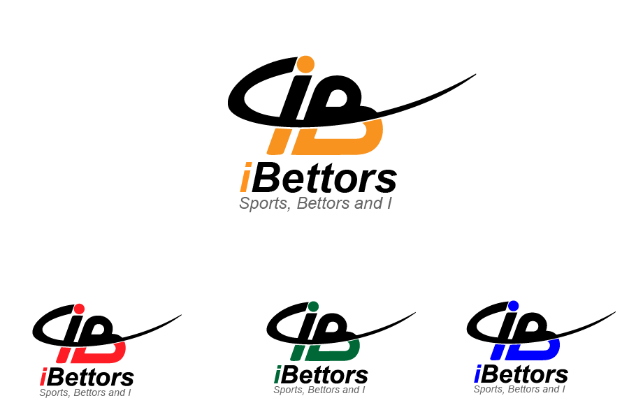 Logo Design by Private User - Entry No. 82 in the Logo Design Contest Captivating Logo Design for iBettors.com.