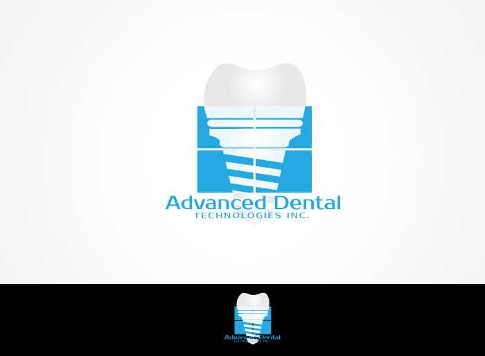 Logo Design by Jan Chua - Entry No. 44 in the Logo Design Contest Fun Logo Design for Advanced Dental Technologies Inc..