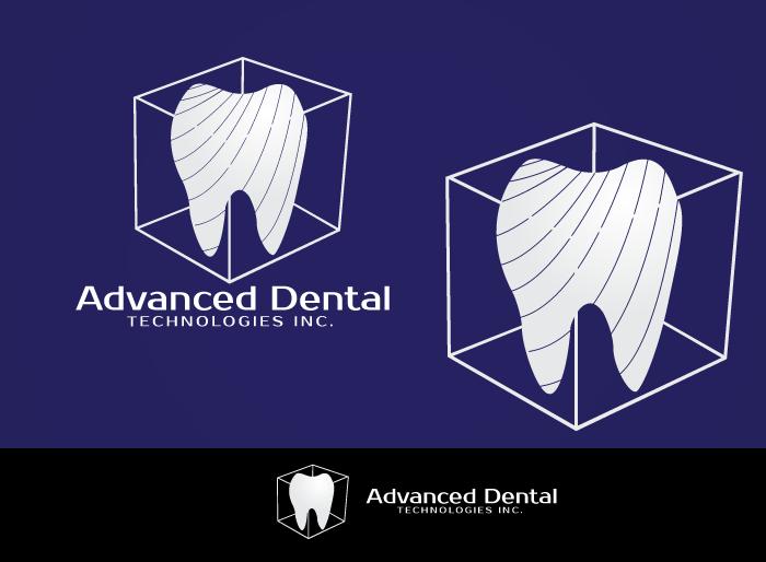 Logo Design by Jan Chua - Entry No. 46 in the Logo Design Contest Fun Logo Design for Advanced Dental Technologies Inc..