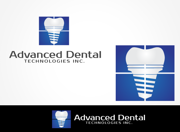 Logo Design by Jan Chua - Entry No. 48 in the Logo Design Contest Fun Logo Design for Advanced Dental Technologies Inc..