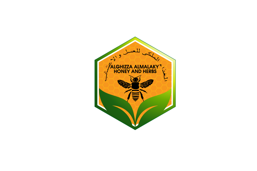 Logo Design by Private User - Entry No. 41 in the Logo Design Contest Artistic Logo Design for ALGHIZZA ALMALAKY HONEY AND HERBS.