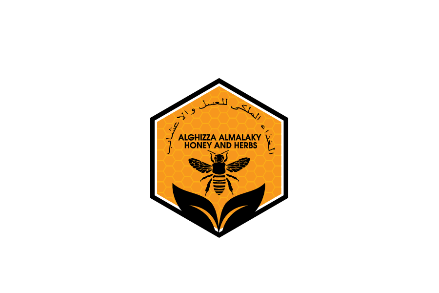 Logo Design by Private User - Entry No. 42 in the Logo Design Contest Artistic Logo Design for ALGHIZZA ALMALAKY HONEY AND HERBS.