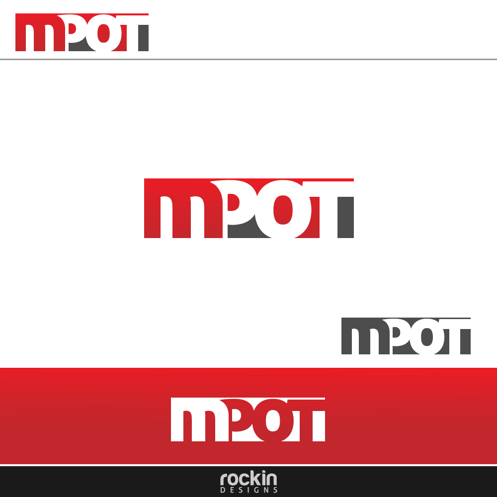 Logo Design by rockin - Entry No. 61 in the Logo Design Contest Mpot inc  Logo Design.
