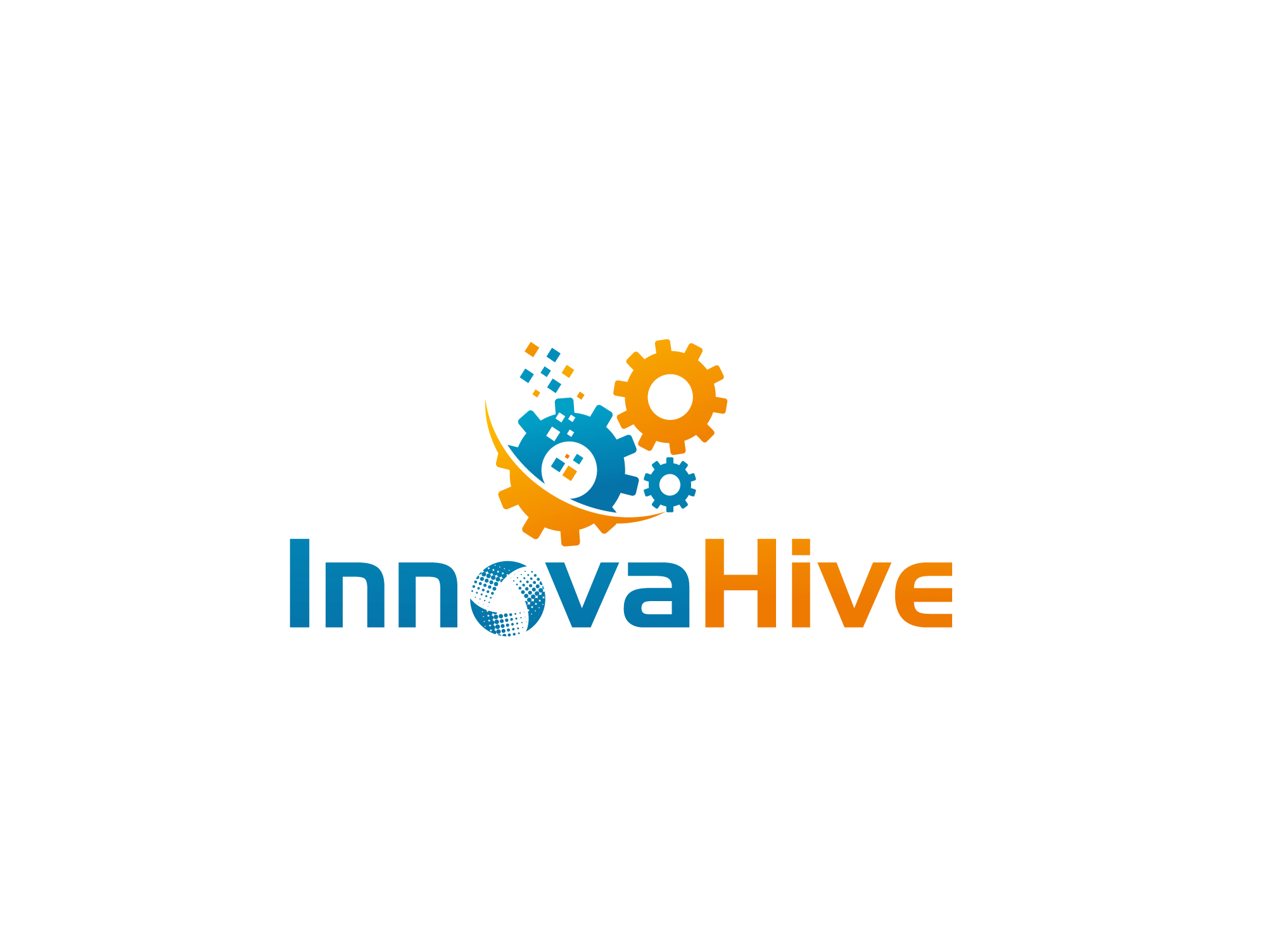 Logo Design by Private User - Entry No. 85 in the Logo Design Contest InnovaHive Logo Design.