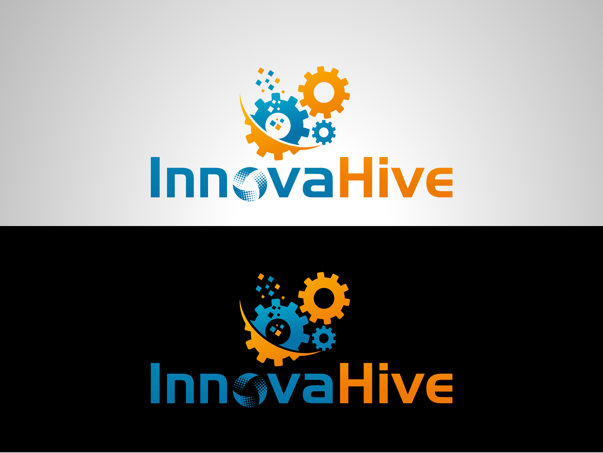Logo Design by Private User - Entry No. 86 in the Logo Design Contest InnovaHive Logo Design.