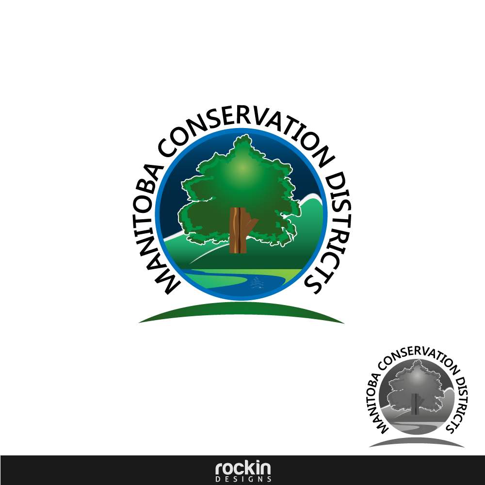 Logo Design by rockin - Entry No. 113 in the Logo Design Contest Manitoba Conservation Districts Logo Design.