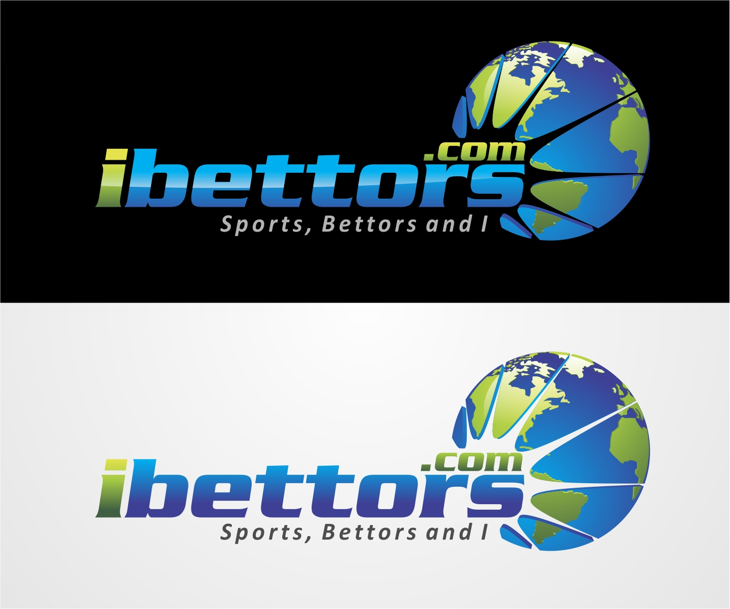 Logo Design by Reivan Ferdinan - Entry No. 105 in the Logo Design Contest Captivating Logo Design for iBettors.com.