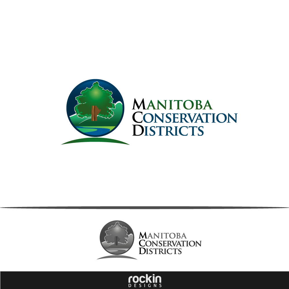 Logo Design by rockin - Entry No. 114 in the Logo Design Contest Manitoba Conservation Districts Logo Design.
