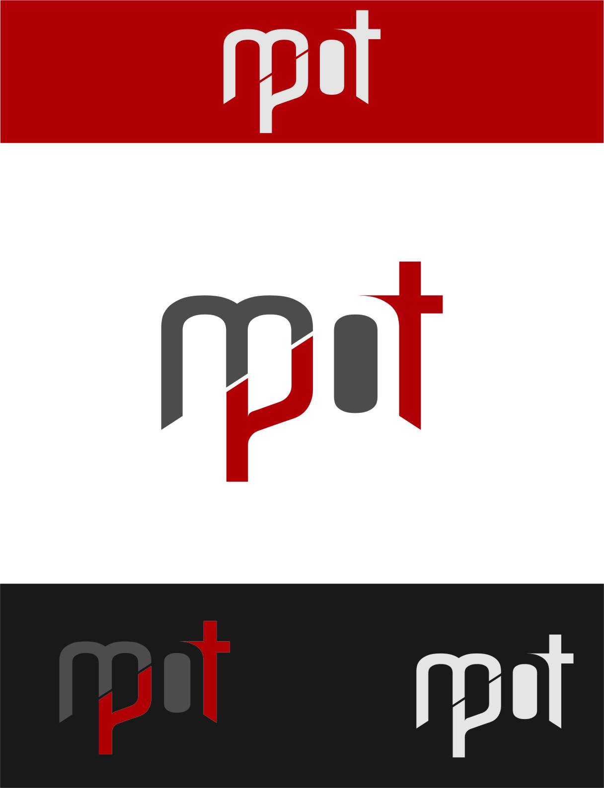 Logo Design by RasYa Muhammad Athaya - Entry No. 66 in the Logo Design Contest Mpot inc  Logo Design.