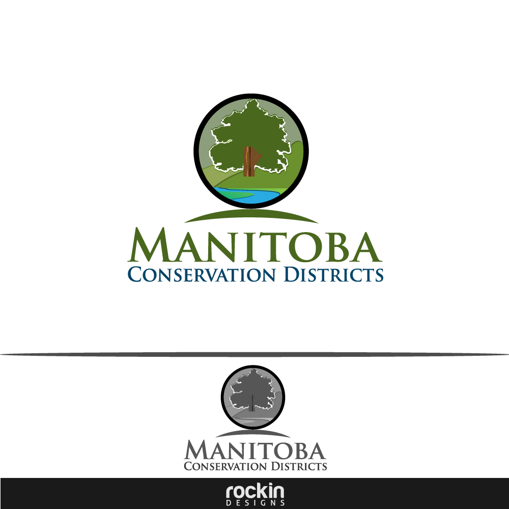 Logo Design by rockin - Entry No. 117 in the Logo Design Contest Manitoba Conservation Districts Logo Design.