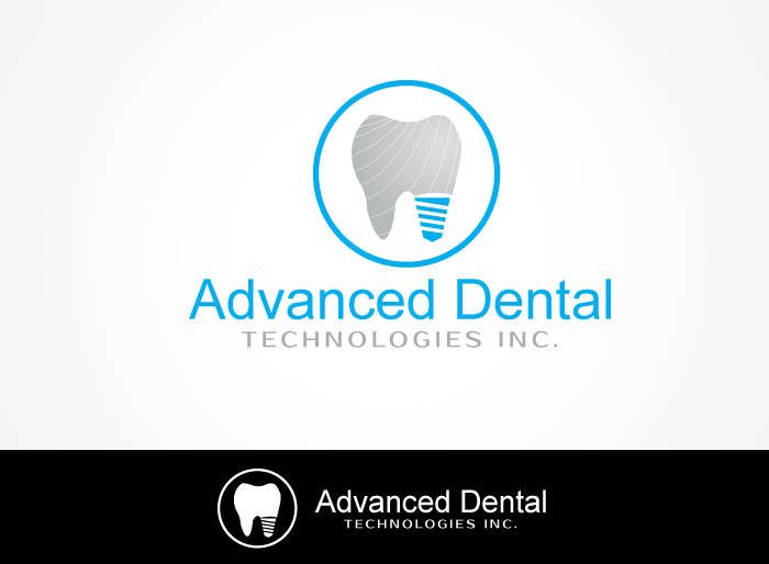 Logo Design by Jan Chua - Entry No. 59 in the Logo Design Contest Fun Logo Design for Advanced Dental Technologies Inc..