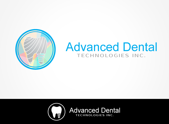 Logo Design by Jan Chua - Entry No. 60 in the Logo Design Contest Fun Logo Design for Advanced Dental Technologies Inc..