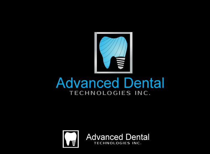 Logo Design by Jan Chua - Entry No. 61 in the Logo Design Contest Fun Logo Design for Advanced Dental Technologies Inc..