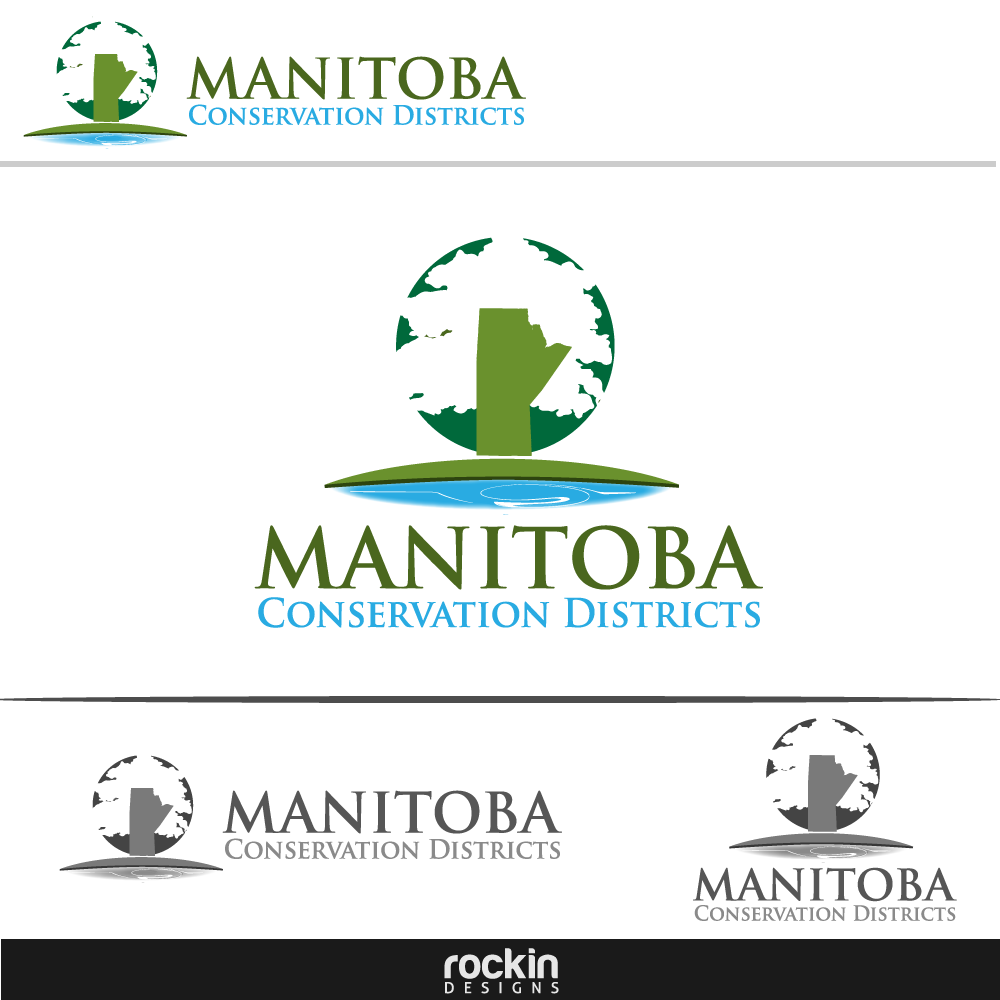 Logo Design by rockin - Entry No. 118 in the Logo Design Contest Manitoba Conservation Districts Logo Design.