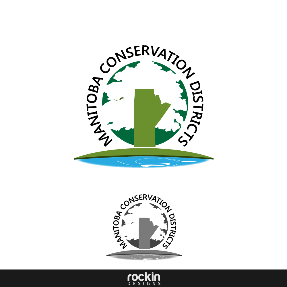 Logo Design by rockin - Entry No. 120 in the Logo Design Contest Manitoba Conservation Districts Logo Design.