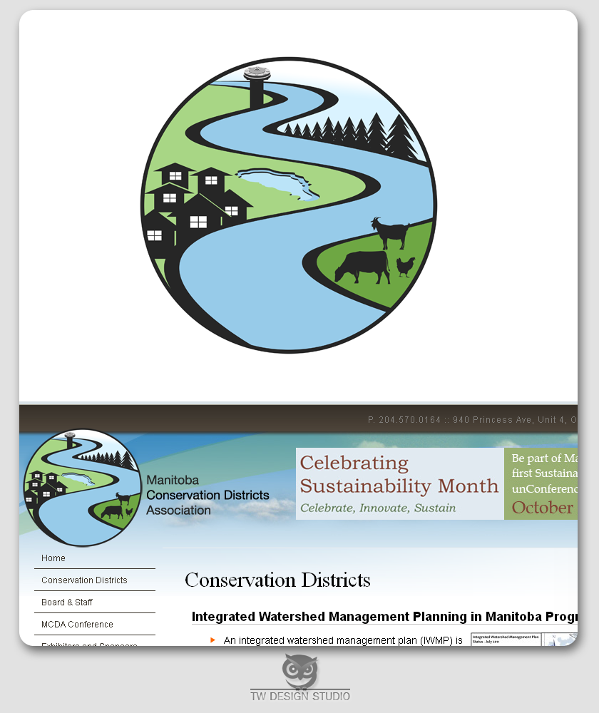 Logo Design by Private User - Entry No. 121 in the Logo Design Contest Manitoba Conservation Districts Logo Design.