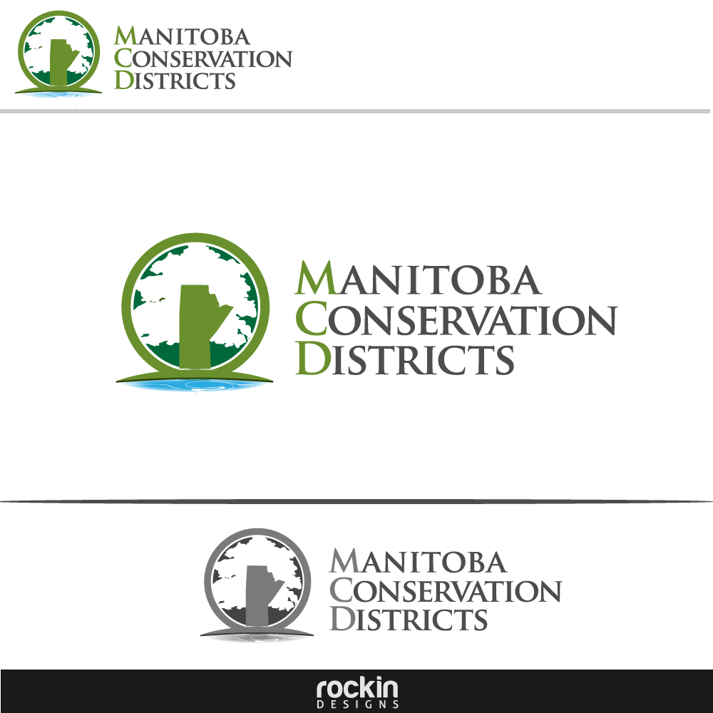 Logo Design by rockin - Entry No. 122 in the Logo Design Contest Manitoba Conservation Districts Logo Design.