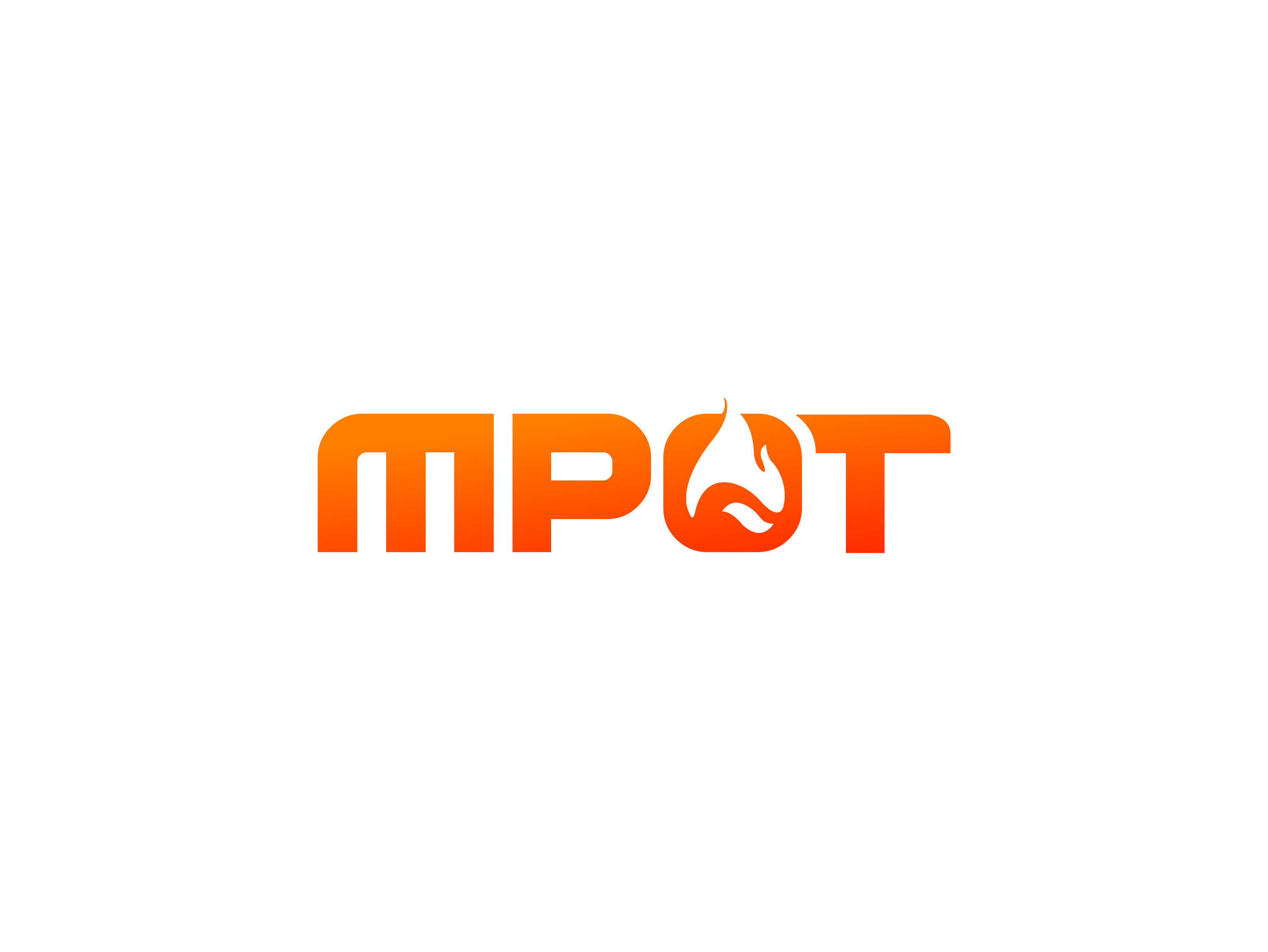 Logo Design by Private User - Entry No. 74 in the Logo Design Contest Mpot inc  Logo Design.