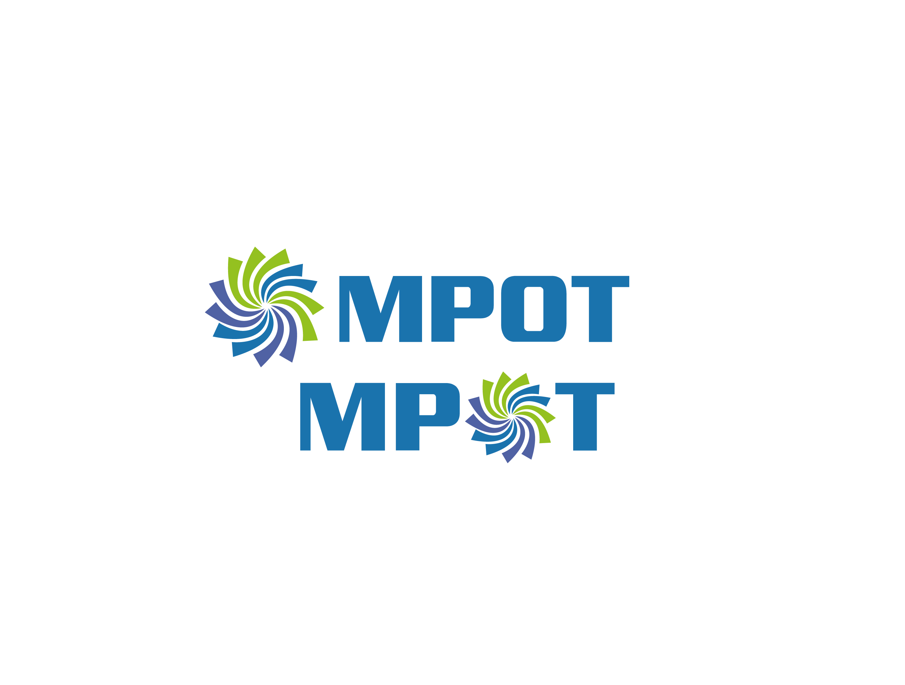 Logo Design by Private User - Entry No. 75 in the Logo Design Contest Mpot inc  Logo Design.