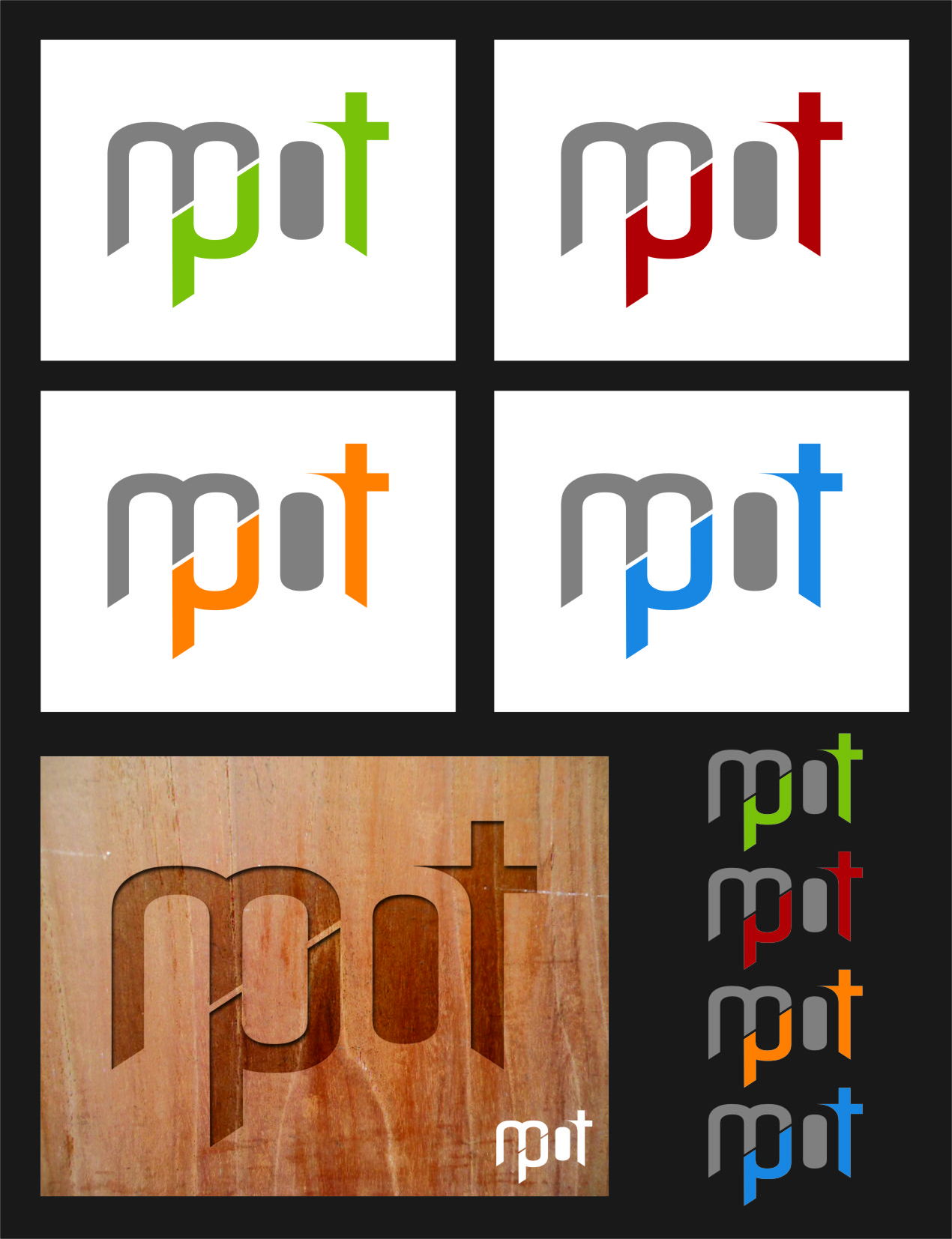 Logo Design by Ngepet_art - Entry No. 88 in the Logo Design Contest Mpot inc  Logo Design.