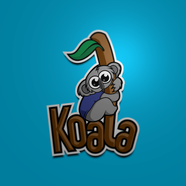 "Logo Design by Private User - Entry No. 1 in the Logo Design Contest Imaginative Logo Design for ""Koala""."