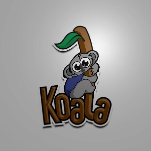 "Logo Design by Private User - Entry No. 2 in the Logo Design Contest Imaginative Logo Design for ""Koala""."