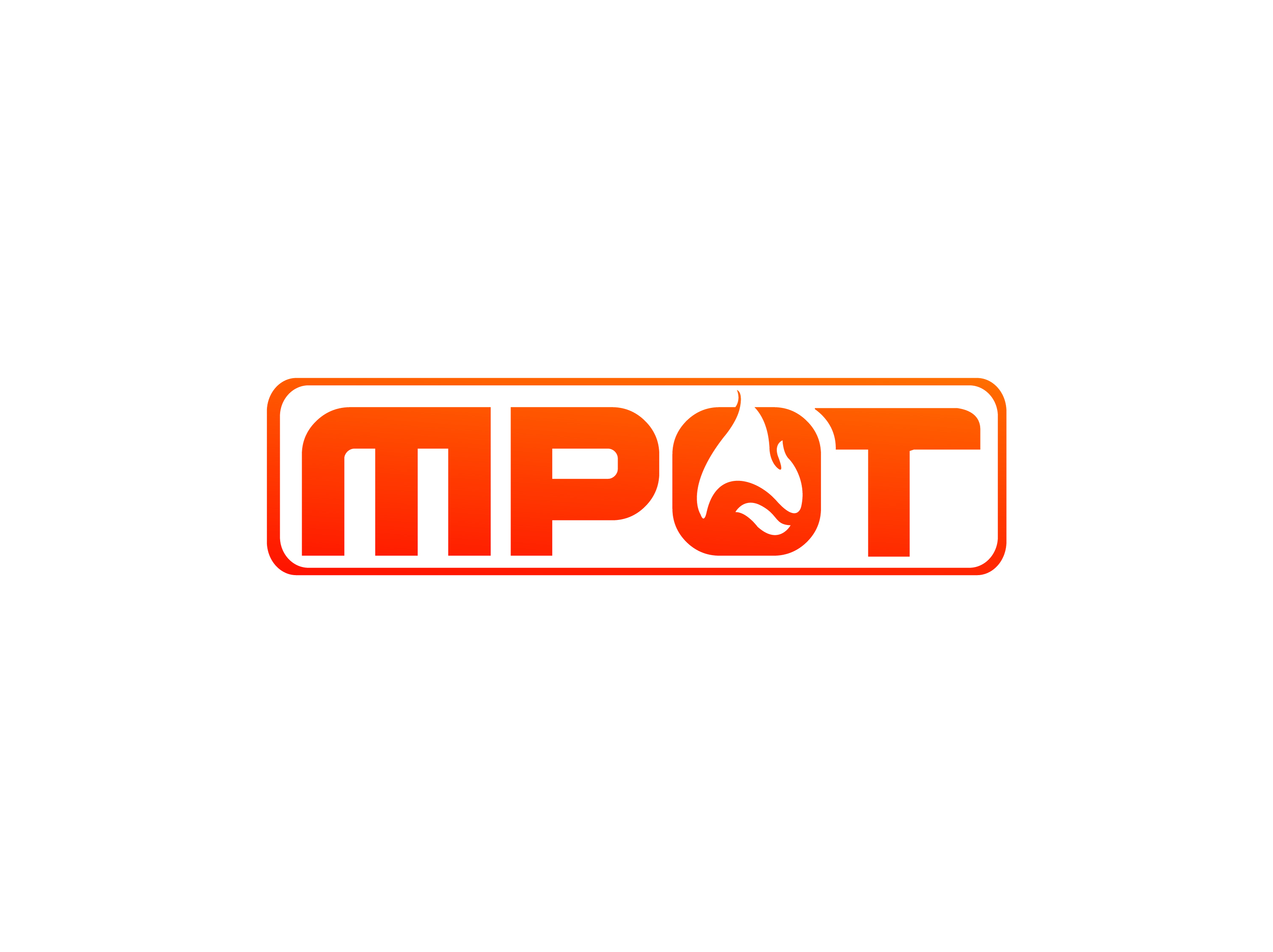 Logo Design by Private User - Entry No. 93 in the Logo Design Contest Mpot inc  Logo Design.