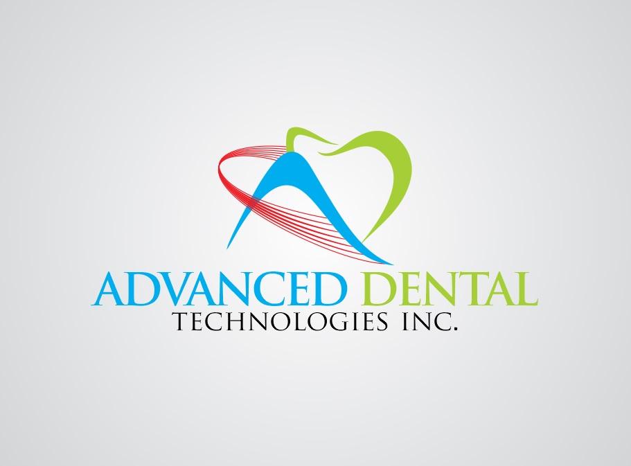 Logo Design by Rehan Saeed - Entry No. 68 in the Logo Design Contest Fun Logo Design for Advanced Dental Technologies Inc..