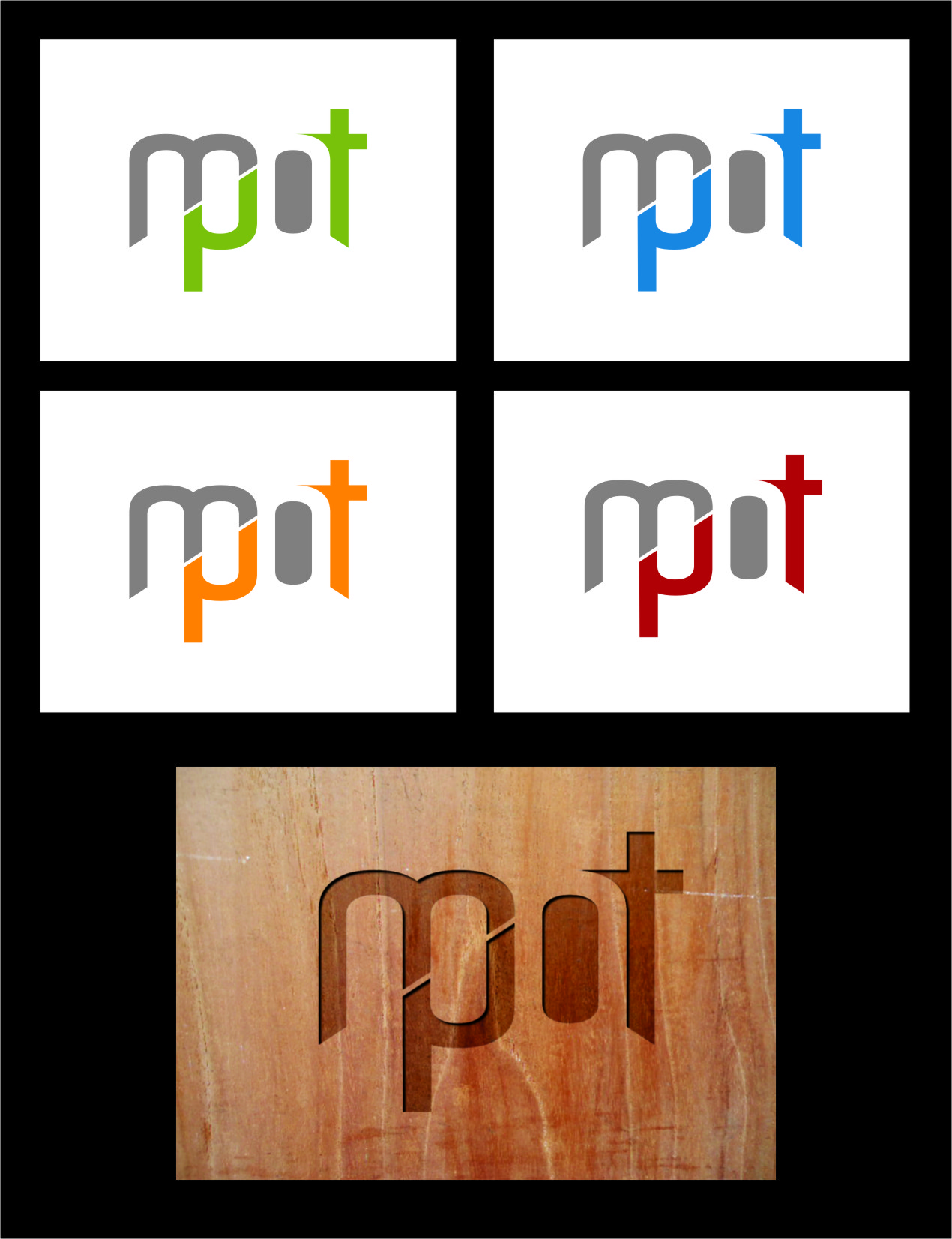 Logo Design by Ngepet_art - Entry No. 95 in the Logo Design Contest Mpot inc  Logo Design.