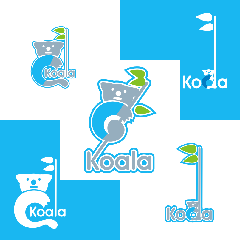"Logo Design by graphicleaf - Entry No. 3 in the Logo Design Contest Imaginative Logo Design for ""Koala""."