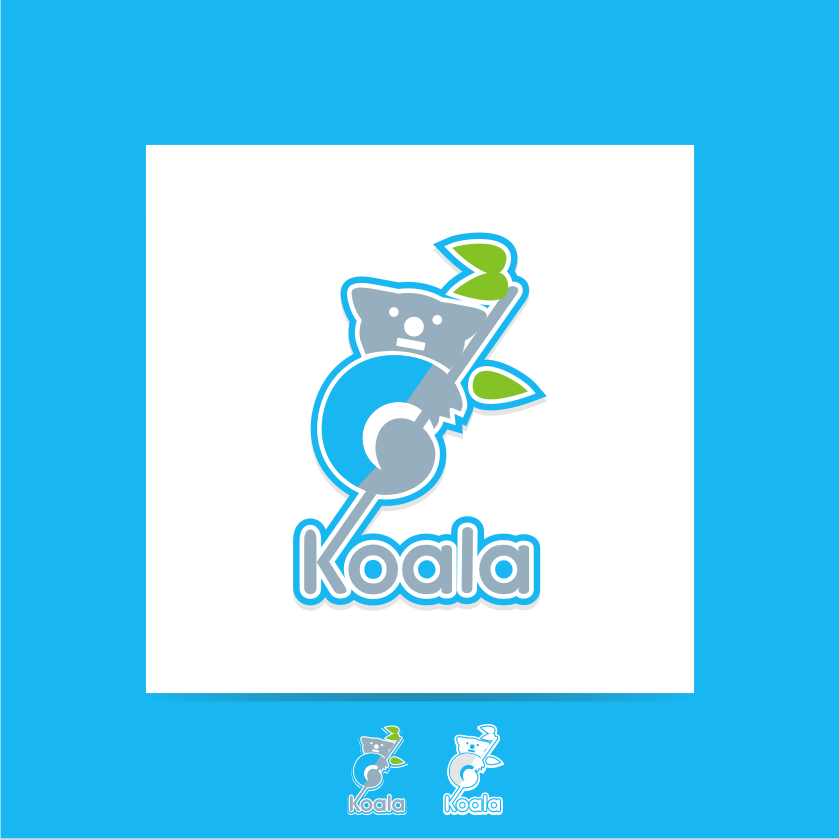 "Logo Design by graphicleaf - Entry No. 4 in the Logo Design Contest Imaginative Logo Design for ""Koala""."