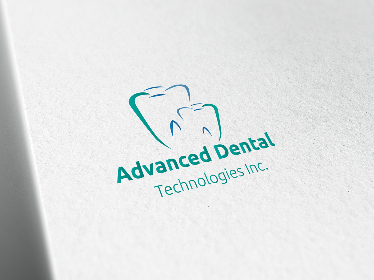 Logo Design by Adnan Younus - Entry No. 71 in the Logo Design Contest Fun Logo Design for Advanced Dental Technologies Inc..