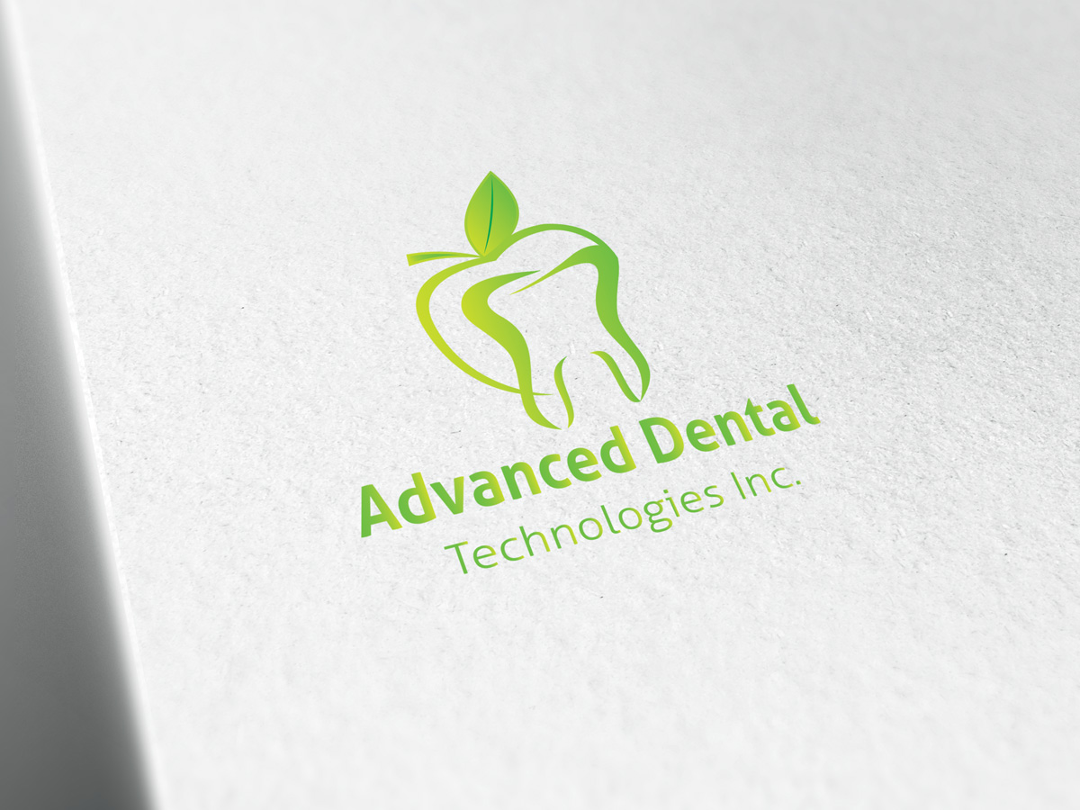 Logo Design by Adnan Younus - Entry No. 72 in the Logo Design Contest Fun Logo Design for Advanced Dental Technologies Inc..