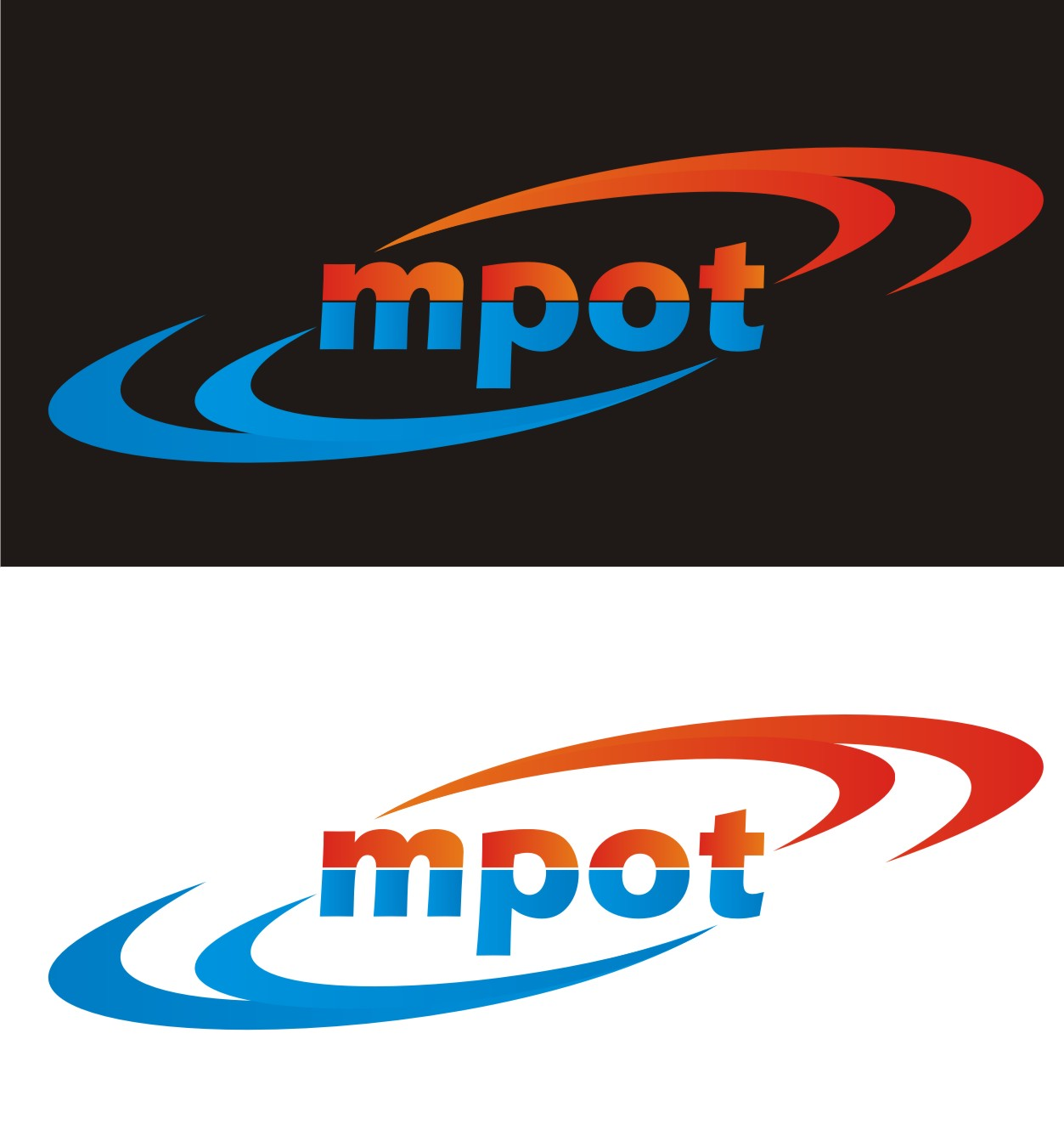 Logo Design by Yuda Hermawan - Entry No. 101 in the Logo Design Contest Mpot inc  Logo Design.